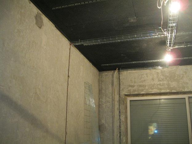 Шумоизоляция потолка