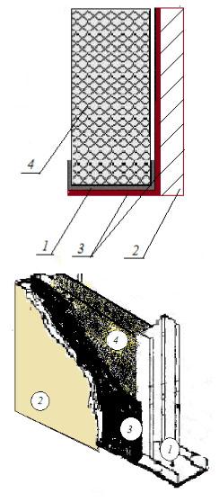 Индекс изоляции обшивки Rw44